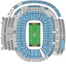 Lambeau Field Seating Chart Green Bay Packers Tickets 2017