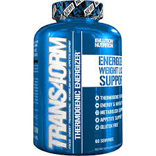 evlution nutrition trans4orm thermogenic energizing fat burner supplement increase weight loss energy and intense focus 60 servings