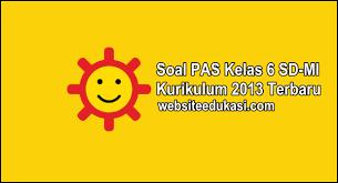 Kunci jawaban penilaian tengah semester (pts) ii / genap. Soal Pas Kelas 6 Kurikulum 2013 Tahun 2020 2021 Websiteedukasi Com