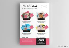 Business Product Sales Flyer Layout Buy This Stock Template And