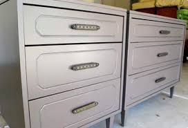 The most surefire way to spruce up old furniture  a new layer of paint and