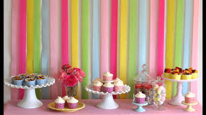 Small Picture Decor Best How To Make Birthday Party Decorations Home Design