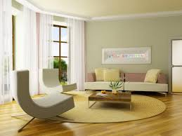 Yellow Paint For Living Room Living Room Yellow Painted Wall With White Leather Cushion Also