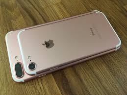 iphone 7 plus rose gold. apple has introduced two new colors this time around \u2014 black and jet black. the latter proven quite popular since its announcement, selling out quickly iphone 7 plus rose gold