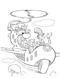 The Cat In Hat Coloring Pages Full Size Of Websites Party ...