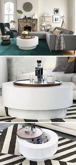 Styling A Round Coffee Table Furniture Ideas Round Coffee Tables In Glass Wood Marble And
