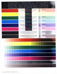 Small Picture Printer Color Test Page Colour Inkjet Printer Test Page Coloring