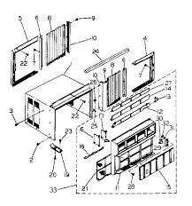 window air conditioner parts. Perfect Air Air Conditioner Unit Parts With Window A