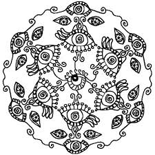 Small Picture Lotus Flower Mandala Coloring Pages Coloring Pages