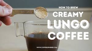 Well first, let's tell you what it is not. What Is Lungo Coffee And How To Brew A Cup Of Creamy Lungo Coffee Coffeesphere