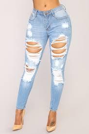 Give Good Love Skinny Jeans Light Blue Wash Light Wash