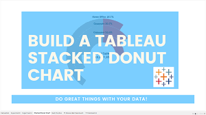 Build A Stacked Donut Chart In Tableau Smoak Signals