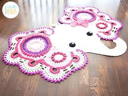 kids animal rug photo 7 of 9 crochet rug awesome design 7 elephant animal rug nursery kids animal rug
