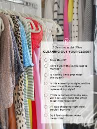 7 questions to ask when organizing a closet