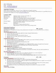 Excel Resume Template Microsoft Excel Resume Templates Office Work Builder Word 24 Best 9
