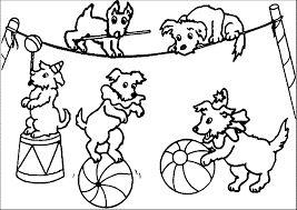 Circus Coloring Pages Wecoloringpage