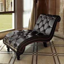 leather chesterfield chair. VidaXL Chesterfield Chaise Lounge Daybed Button Tufted Chair Faux Leather