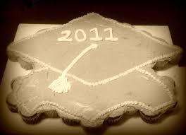 Graduation Pull Apart Cupcake Cake Grad Party Pull Apart Cupcake
