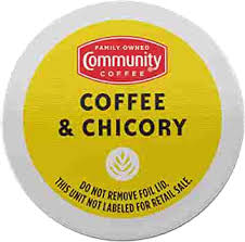 Luzianne instant coffee & chicory 8 oz. Amazon Com Community Coffee Coffee Chicory Single Serve K Cup Compatible Coffee Pods Box Of 18 Pods Grocery Gourmet Food