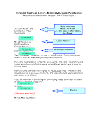Modified Block Letter Format And Open Punctuation Cover Letter