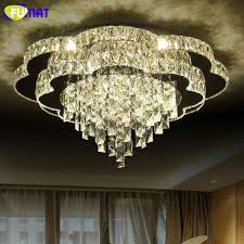 fumat new modern led chandelier flower k9 crystal light fixture for chandeliers china modern solid wood pendant lamp chinese nordic wooden ball light