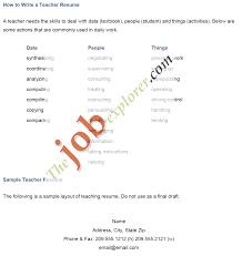 4 Format Of Biodata For Job Of Teacher Lab Report Format