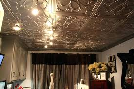 kitchen remodel with faux tin ceiling tiles panels image of style look canada