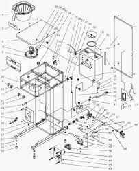 Coffee machine parts diagram best machine 2017