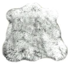 white faux fur area rug remarkable fur area rug black tip wolf faux fur throw
