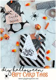 Halloween Gift Cards Diy Halloween Gift Card Tags Giggles Galore