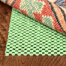 rug chek non slip oval pad best pads pertaining to rubber decor 19