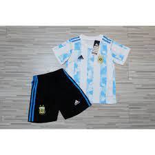 ชุดบอลเด็กทีมชาติอาเจนติน่า ใหม่ล่าสุด ปี2020-2021 เกรด AAA