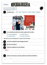 Le Buveur Dencre Fiches De Lecture Ce2 Le Blog Du Cancre