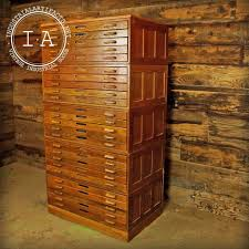 Convert Cabinet To File Drawer Industrial Wooden Hamilton Flat File Blueprint Cabinet