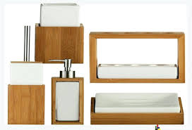 Badezimmer Accessoires Set Holz Bad Accessoires Set Bad Set Bad