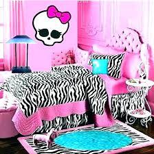 Monster High Bedding Set Bedroom Sets Queen Size Comforter Decor ...
