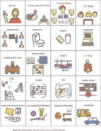 school picture schedule | Visual Aids for ASD | Pinterest | Visual ...