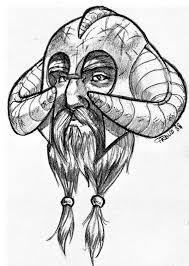 Viking face by pablo arte on deviantart