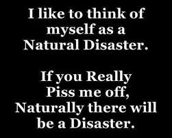 A Natural Disaster | Quotes & other sayings | Pinterest | Natural ...
