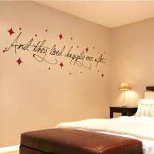 Bedroom Wall Quotes Adorable Quote For Wall Myfauxblog