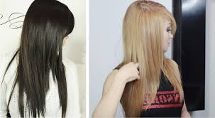 to bleach and dye hair in the same day