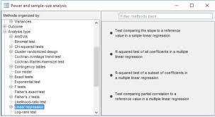 Sample Analysis Classy Power Analysis For Linear Regression