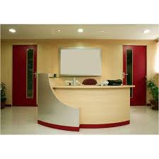 office reception table design. Reception Table Office Design
