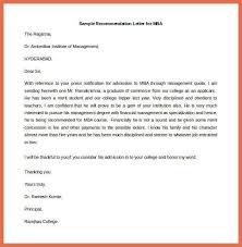 Recommendation Letter Sample sample resume format