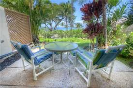 kihei condo al start and end your day on the patio of maui ole a