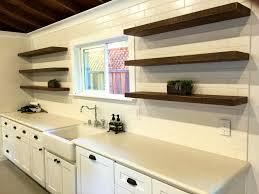 Modern Bedroom Shelves Aspen Floating Shelf Bracketless Shelves Modern Display And Wall