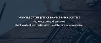 the justice project justice project essay contest winners  the justice project blog justice project essay contest winners announced