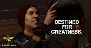 "PS4 Exclusive inFAMOUS: Second Son Gets Funny ""Memes"" and Artwork ... via Relatably.com"
