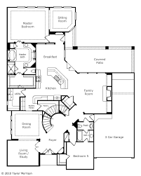 master bedroom with sitting area floor plan. Kitchen Open To Family Room. Master With Sitting Area And Huge Closet. Guest Room Bath Down Stairs. Upstairs Features Game Room, Media Bedroom Floor Plan