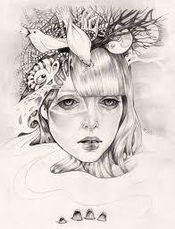 Les illustrations de Martine Johanna - Journal du Design   Oeuvre d'art,  Portrait dessin, Illustration